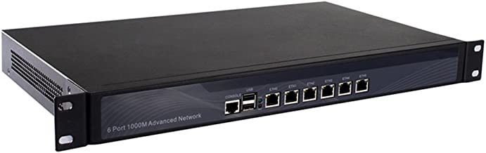 Firewall,VPN,1U Rackmount, Network Security Appliance,Router PC,6 Nics I5 2540M/I5 2520M with AES-NI Support 4G RAM 64G SSD R11