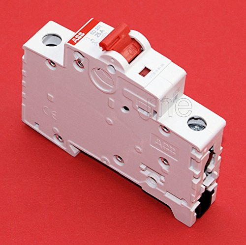 ABB SD201/25 Hauptschalter Lasttrennschalter Schalter 1-polig 25A rot