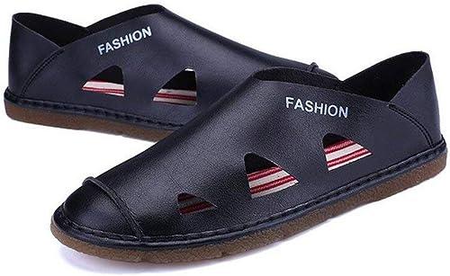 Fuxitoggo Sandales de Plage pour Hommes, 2018, Sports de Plein air d'été, Chaussures pour Hommes Sandales Tout-Aller pour Hommes, Style Sauvage, (Couleur  C, Taille  44) (Couleuré   B, Taille   44)