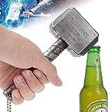 BAYINBROOK Abrebotellas Thor Hammer,Marvel Style Avengers, Cerveza y Bebidas Abridor, Bar y Uso doméstico,Los Vengadores Gran Regalo para Los Fans De Los Cómic O Películas