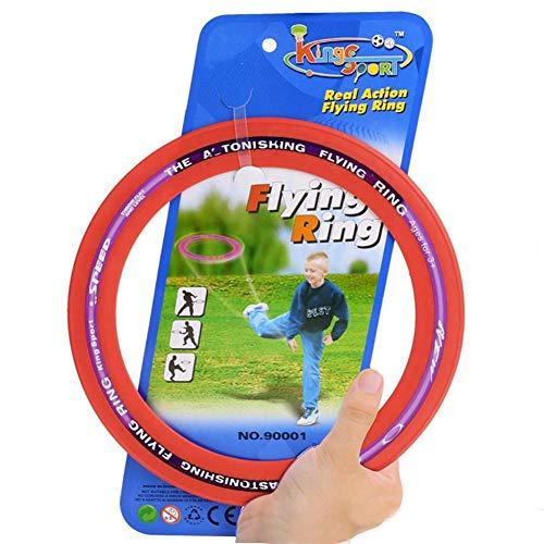 Motto.h - Anillo de Disco Volante, clásico, Seguro y Respetuoso con el Medio Ambiente, para Perros y niños