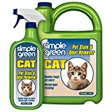 Simple Green Cat Stain & Odor Remover - Enzyme Cleaner for Cat...