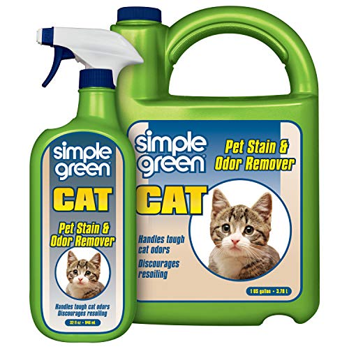 Simple Green Cat Stain & Odor Remover - Enzyme...