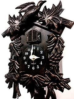 WC2070 - Reloj Cuckoo Walplus Bosque Negro, 36 cm x 20 cm x 11 cm