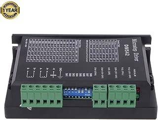 CNC Stepper Motor Driver, 1.0-4.2A 20-50VDC 1/128 Micro-Step Resolutions for Nema 17 and 23 Stepper Motor (DM542)