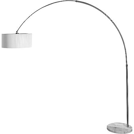 Invicta Interior Extenso Lampe sur pied Blanc