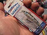Challenger 2 3/8' Micro Minnow 3/32 Oz Fishing Lure/Silver Black Back #034