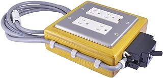 〔ブレーカー付き〕電源タップ TD-01 コンセント:Cタイプ(三又) コード長:約2.5m オーディオパワータップ