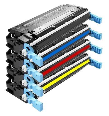4X Eurotone Toner XXL Set remanufactured für HP Color Laserjet 4700 N/DN/DTN/Plus – kompatibel ersetzt HP Q5950A Q5951A Q5952A Q5953A