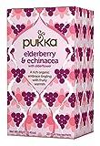 Pukka Organic Elderberry & Echinacea with Elderflower Tea - 20 Tea...