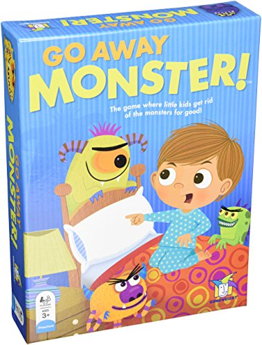 Gamewright Go Away Monster Board Game Multi-colored, 5
