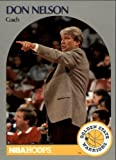 1990-91 NBA Hoops Basketball #313 Don Nelson Coach Golden State Warriors