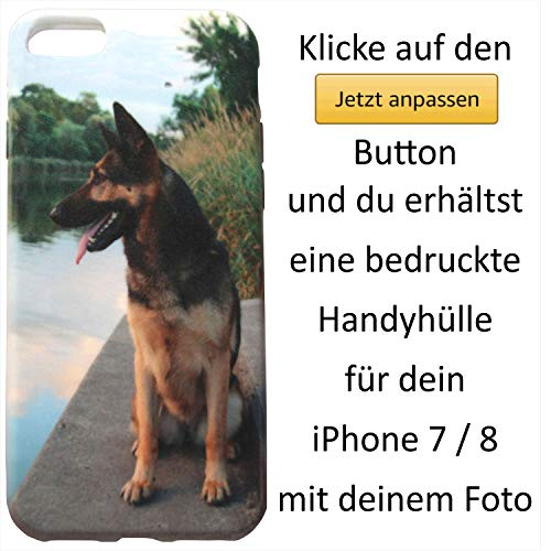 Handyhülle für iPhone 7 - Weiche TPU Schutzhülle Smartphone Case