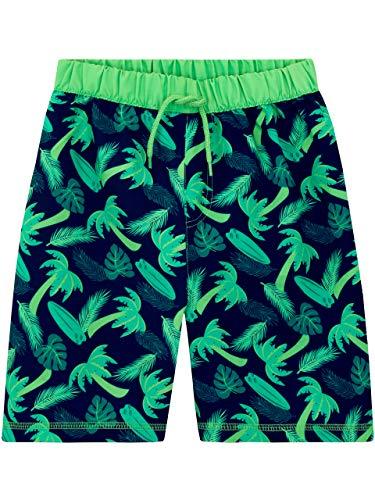 Harry Bear Pantaloncini da Bagno Ragazzi Palme Verde 5-6 Anni
