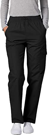 Adar Universal Scrubs for Women - Tapered Cargo Scrub Pants