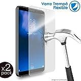 KARYLAX - Protector de pantalla de vidrio templado Nano flexible irrompible, dureza 9H, ultrafino 0,2 mm y 100% transparente para Smartphone Doogee F7 Pro (Pack de 2)