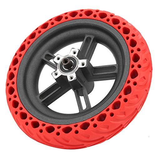 Redxiao 【𝐎𝐟𝐞𝐫𝐭𝐚𝐬 𝐝𝐞 𝐁𝐥𝐚𝐜𝐤 𝐅𝐫𝐢𝐝𝐚𝒚】 Rueda Trasera de Scooter eléctrico Fuerte y Duradero, neumático Trasero de Scooter eléctrico, neumático Trasero para X-iaomi Pro(Red)