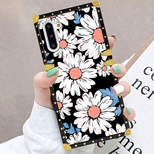 Aigomara Aigomara Square Phone Case For Samsung Galaxy Note 10 Daisy Wallpaper Metal Design Soft Tpu Shockproof Back Cover From Amazon Daily Mail