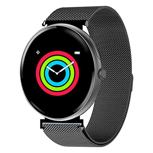 AllCall Smart Watch,IP68 Waterproof Bluetooth Smartwatch for Men Women Kids Compatible Android iOS,Fitness Activity Tracker with Heart Rate Monitor & Blood Pressure Monitor New Model