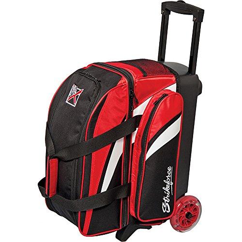 KR Strikeforce Cruiser Smooth Double Roller Bowlingbag rot/weiß/schwarz
