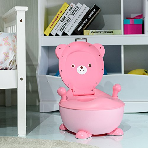Safetots Princess and Pony Infant Girls Toilet Training Seat and Step Stool