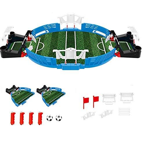 Mini Tabletop Footbal Game, Zwei-Spieler-Spiel Finger Sports Puzzle Toy, wettbewerbsfähiges Double Battle Puzzle Brettspiel für Kinder Erwachsene (2PCS)
