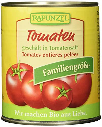 Rapunzel Tomaten geschält in der Dose, 3er Pack (3 x 800 g) - Bio