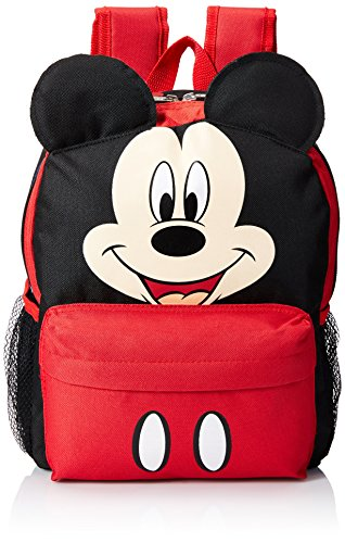Disney Mickey Mouse Smiley Face and Ears Kids 12' Backpack