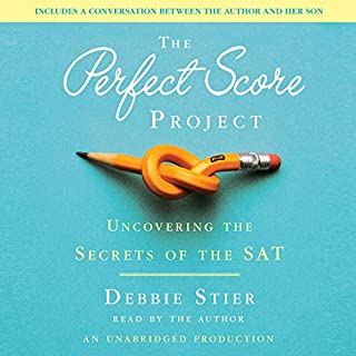 The Perfect Score Project audiobook cover art