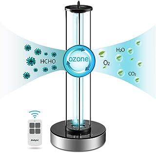 WWJQ 38W Lámpara De Esterilización UV Ozono (sin Ozono),Purificador De Aire Casero De La Lámpara De Mesa De La Desinfección con Control Remoto,220V / Desodorante De ...