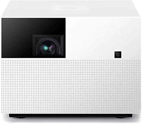 TIANYOU Projector Projector 1920 * 1080Dpi 1080P Resolution 1500 Ansi Lumens Home Theater for Gaming Movies HD Resolution/White / 200 × 200 × 148mm