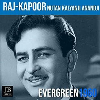 Raj Kapoor - Nutan | Kalyanji Anandji Hits | Evergreen (1960)