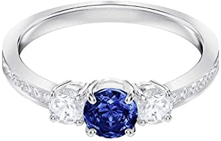 Attract Trilogy Round Ring, Blue 5448850