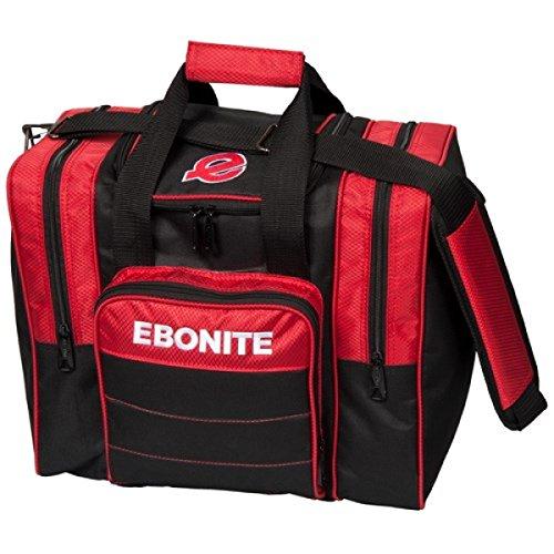 Ebonite Impact Plus 1bola de bolos Single Bolsa con espacio para balón de fútbol,...