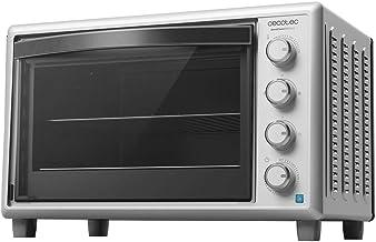 Cecotec Tischbackofen Bake&Toast Gyro 850, 60 l Fassungsvermögen, 12 Funktionen, 2200W, drehbare Rösteinrichtung Weiß