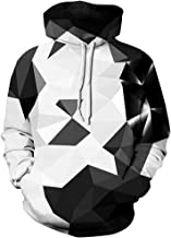 Pandolah Men's Patterns Print 3D Sweaters Fashion Hoodies Sweatshirts Pullover