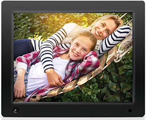 Nixplay Original 12 Inch WiFi Cloud Digital Photo Frame. iPhone & Android App, Email, Facebook, Dropbox, Instagram, Flickr, Google Photos (W12A) Camera Digital Features Frames Photo Picture