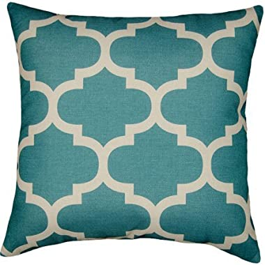 Mainstays Fretwork 18  x 18  Decorative Pillow