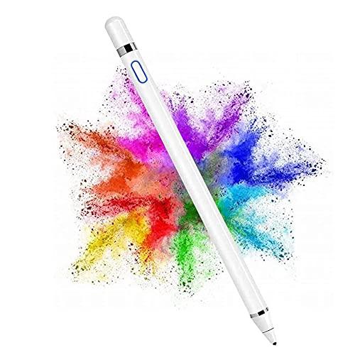 Lápiz para Pantallas Táctiles: JanTeelGO Recargable de 1.6 mm de Punto Fino para Pintar Digital Stylus Pen Compatible con Todas Las Tabletas con Pantalla Táctil y Teléfonos Móviles