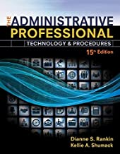 [Dianne S. Rankin] The Administrative Professional: Technology & Procedures, Spiral Bound Version