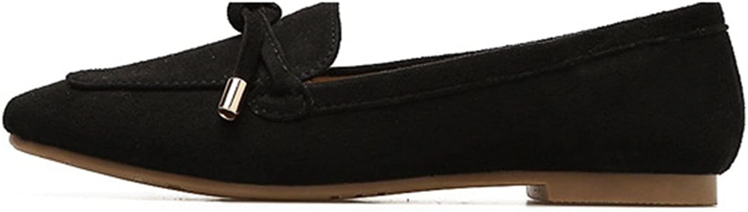 T-JULY Women's Casual Loafers Comfort Driving Square Toe Moccasins Penny Slip-On shoes