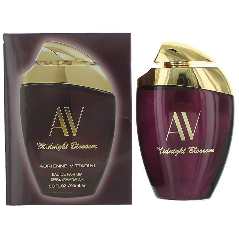 気晴らし類人猿適応的アドリエンヌビタディーニ AV Midnight Blossom Eau De Parfum Spray 90ml/3oz並行輸入品