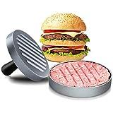 ICEWHWWL Burgerpresse, Hamburger Patty Maker, 150 Blatt Backpapier, Burger Pattie Presse, für...