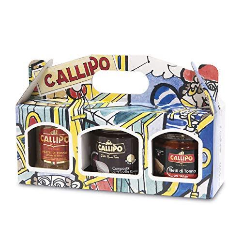 Confezione Tris Callipo con Tonno e Cipolla Rossa