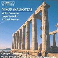 Violin Concerto; Largo Sinfoni by NIKOS SKALKOTTAS (1999-01-25)