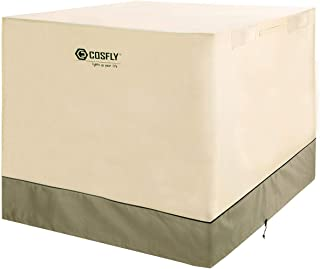 COSFLY Air Conditioner Cover for Outside Units-Durable AC Cover Water Resistant Fabric..