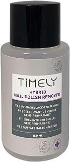 Timely - Quitaesmalte para esmaltes de uñas híbridos con aroma a mango 150 ml