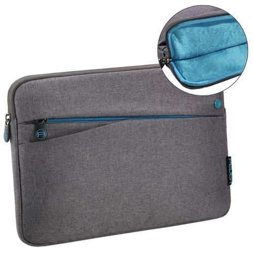 Pedea Tablet PC Tasche für 10,1 Zoll (25,7cm) mit Zubehörfach, grau