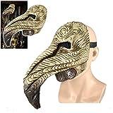 N\ A Maschera del Medico della Peste Maschera del Becco della Peste di Halloween Maschera del Becco Dell'uccello Steampunk per Puntelli di Prestazione del Partito A