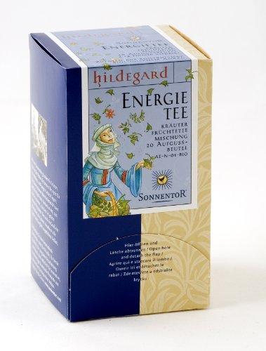 Sonnentor Energie-Tee Hildegard Hol Dir Schwung! Teebeutel, 1er Pack (1 x 20 g) - Bio